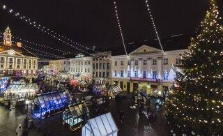 Адвент принесет в центр Тарту уютное рождественское настроение