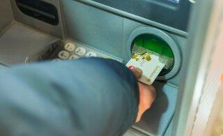 В свете эпидемии коронавируса в Мустамяэ обратили внимание на банкоматы