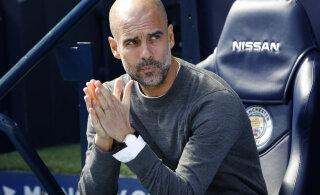 Pep Guardiola Manchester derbi eel: Unitedi kodustaadionil mängimist pole enam põhjust karta