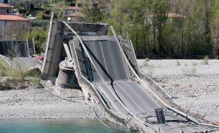 На севере Италии рухнул 400-метровый мост. От многочисленных жертв спас только коронавирус