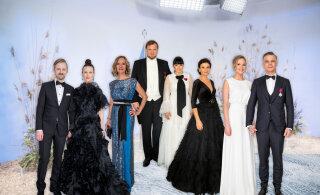HÄÄLETUS | Presidendi vastuvõtul näeme sageli sini-must-valgeid kleite. Aga milline neist on läbi aegade kõige kaunim?