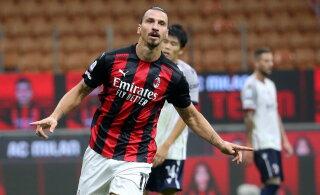 Hooaega kahe väravaga alustanud Zlatan Ibrahimovic võrdles ennast Benjamin Buttoniga