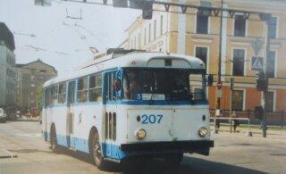 ФОТО | 55 лет троллейбусному транспорту в Таллинне: четыре маршрута из девяти работают по сей день