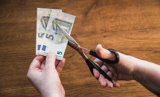 Эстонские предприятия во время кризиса активнее других в странах Балтии урезают зарплаты
