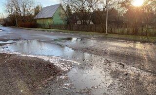 ГАЛЕРЕЯ | Читатель RusDelfi: Позор! В Йыхви так отремонтировали дорогу