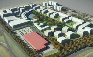 ФОТО И КАРТА | В Ласнамяэ вместо торгового центра с кинотеатром построят жилой квартал