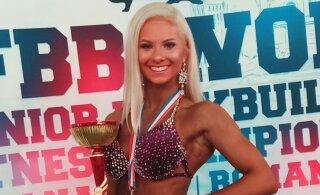 ФОТО: Молодые звезды эстонского фитнеса завоевали медали чемпионата мира