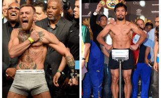 Conor McGregor võtab poksiringis ette Manny Pacquiao