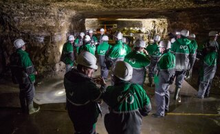 Временно приостановлена работа шахты Estonia — у одного работника выявлен коронавирус