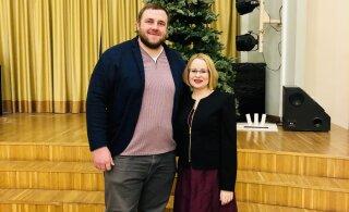 """Инициаторы проекта """"Маша и Медведь"""" пришли в ласнамяэскую школу поговорить о травле"""
