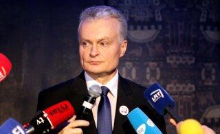 В Литве состоялись выборы президента: Шимоните поздравила Науседу с победой