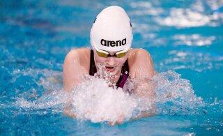 14-летняя силламяэская пловчиха выполнила олимпийскую норму