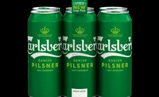 Saku теперь продает пиво Carlsberg в инновационном экологичном блоке