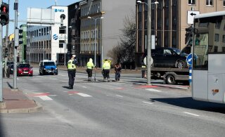 В Таллинне мужчина нападал на прохожих