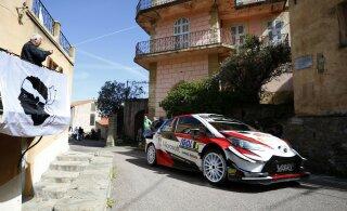 Toyotasse istumine lõpetas Ott Tänaku jaoks Korsika ralli needuse