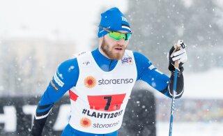 Эстонские лыжники начинают новый сезон в финской Руке