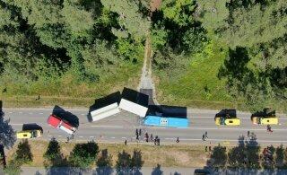 ГЛАВНОЕ ЗА ДЕНЬ: Авария с 26 пострадавшими, RusDelfi на фестивале Вайкуле и концерт Metallica в Тарту