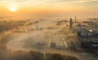 """Loodusfestivali fotokonkursi """"Metsik linn"""" võitis udune varahommik Tartus"""