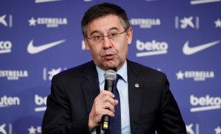 FC Barcelona president: VAR soosib alati seda ühte ja sama meeskonda