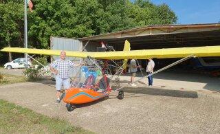 FOTOD | Lennuki ostnud riigikogu esimees Henn Põlluaas: see on fantastiline tunne, kui sa õhus liugled ja lendled
