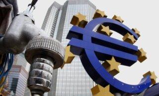 Euroopa Keskpanga juhi tulevikunägemus pani euro kukkuma ja Trumpi raevutsema