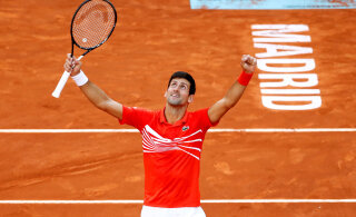 Madridi tippturniir tennises jääb koroonaviiruse teise laine tõttu ära
