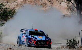 Dani Sordo teenis Mehhiko WRC-ralli peaproovil kindla võidu