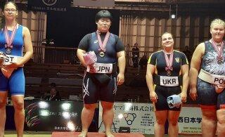 Eesti sumomaadlejad võitsid MMilt kaks medalit