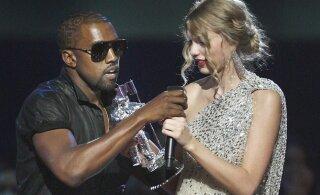 Kanye West on hakanud taas siluma suhteid Taylor Swiftiga: räppar vannub, et aitab lauljal oma esimesed hitid tagasi võita