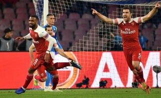Inglaste pidu jätkub: Arsenal ja Chelsea murdsid Euroopa liigas poolfinaali
