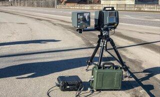 Установленная в Ласнамяэ мобильная камера полиции фиксировала по 100 нарушений в час