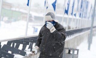 В начале недели Эстонию ждут морозы, которые усилит ветер. Одевайтесь предельно тепло