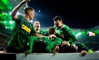Dortmundi Borussia kaotas ja langes Bundesligas esinelikust välja
