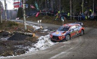 ФОТО | Отт Тянак занял второе место на этапе в Швеции