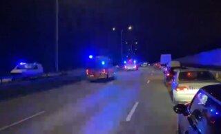 В Финляндии пьяный эстонец на BMW устроил ДТП с двумя погибшими. Полиция пока не смогла его допросить