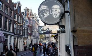 Власти Амстердама рассматривают возможность запрета продажи каннабиса туристам в кафе