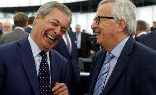 Juncker võttis ametiaja kokku kibedusega Brexiti vastu