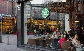Starbucks выходит на рынок Эстонии с первой продукцией