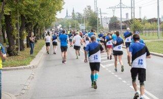 Tallinna Maratoni ajaks on oodata hoovihmadega ilma