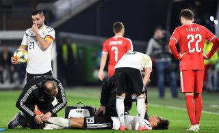 VIDEO | Saksamaa ja Serbia maavõistlusmängus tehti Manchester City ründetähele karm viga
