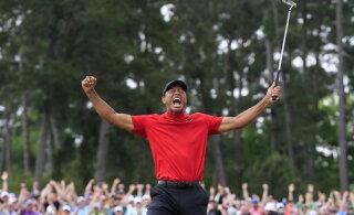 Hullumeelne panus Tiger Woodsile tegi ameeriklasest mänguri miljonäriks