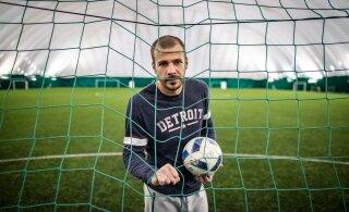 Экс-вратарь сборной Эстонии попался за рулем в нетрезвом виде