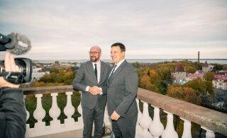 FOTOD | Peaminister Jüri Ratas kohtus Euroopa Ülemkogu tulevase eesistuja Charles Micheliga