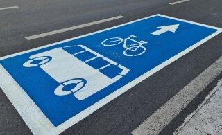 Oluline uuendus: Tallinn lubab jalgratturid ühistranspordiradadele