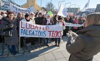 Лидер EHL: если учителям не повысят зарплату, они объявят забастовку