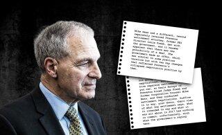 Kas Louis Freeh valetab? USA kohtudokumendid: Freeh töötas rahapesus süüdistatud ettevõtte heaks