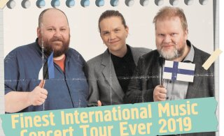 Muhedikud lähevad tuurile! Orelipoiss põrutab Soome ja toob tulles kaasa huumorimuusikud eestlastele vaadata!