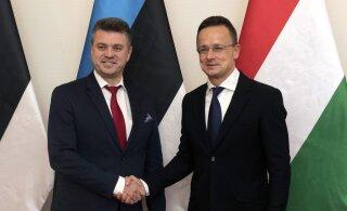 Венгерский министр иностранных дел на встрече с Урмасом Рейнсалу: Эстония и Венгрия считают миграционный пакт ООН опасным