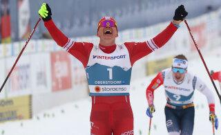 ВИДЕО: Один против пятерых. Большунов завоевал золото в скиатлоне