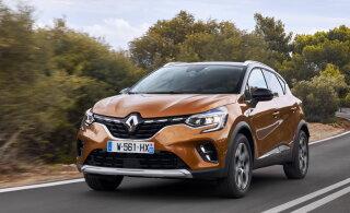 Uus Renault Captur on eelkäijast avaram, nägusam ja paremini viimistletud